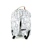 The Pack Society Classic Backpack Geometric Marble Grijs
