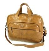 Justified RAMONA 2 vaks zakentas Business tas laptoptas Cognac