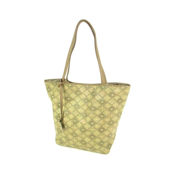 Trendy shopper MILA bewerkt Taupe
