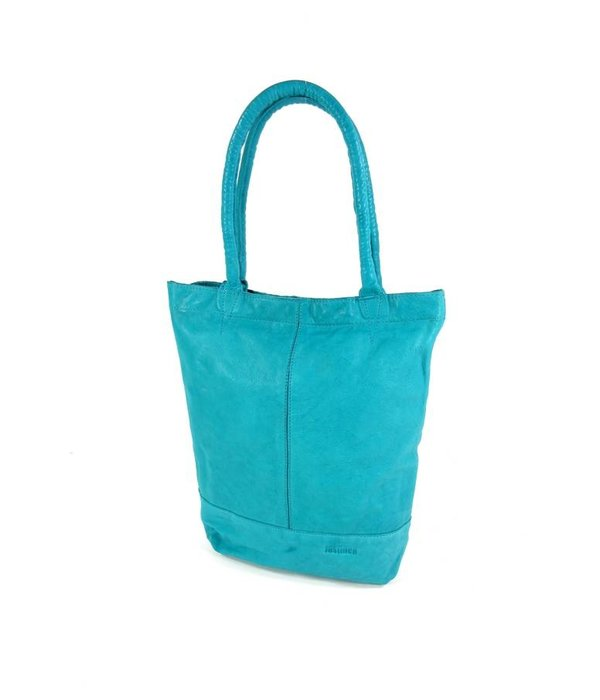 Justified Leren shopper AMBER Turquoise