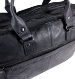 Chesterfield 2 vaks 15,6 inch laptoptas Black Label Cow Hi-Veg JOHNNY Antraciet