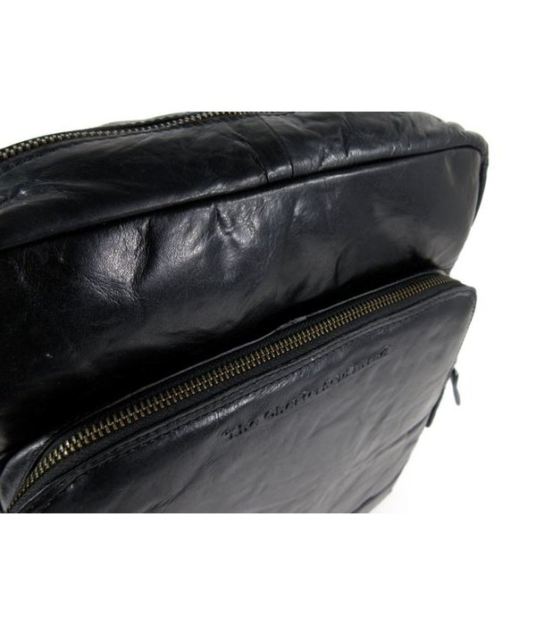 Chesterfield Elegante Dames rugzak MACI antique Buf crumbled zwart