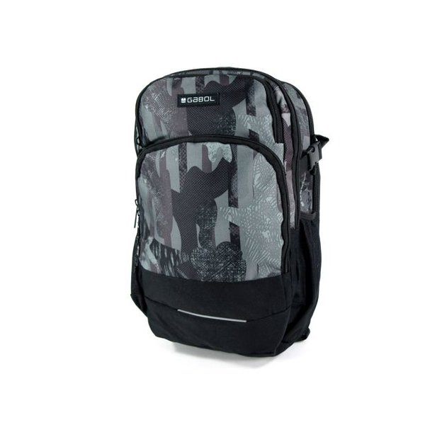 Compacte Backpack URBAN FRAME Zwart Multi