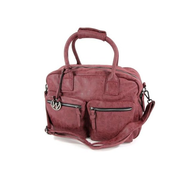 Handtas schoudertas Westernbag ALESSIA ONE Bordeaux