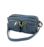 Depeche Cross-body bag schoudertas damestas Smokey blue
