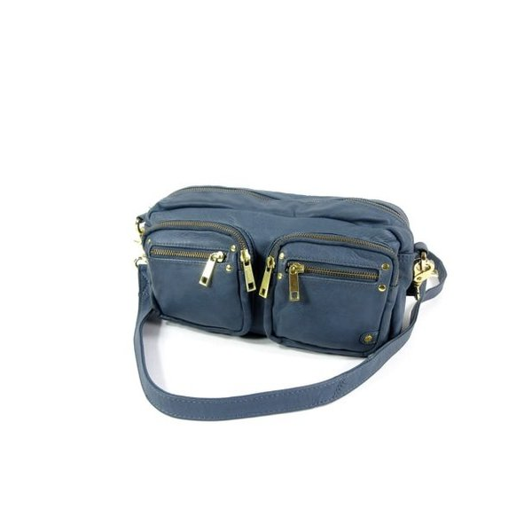 Cross-body bag schoudertas damestas Smokey blue