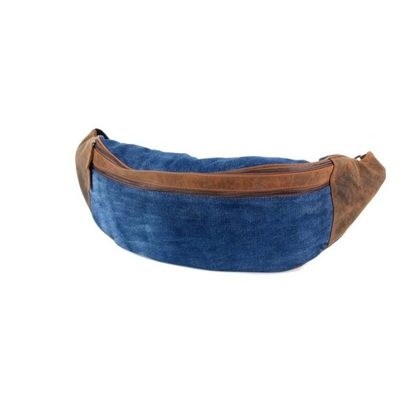 Bodybag XL Hunter Jeans Bruin blauw