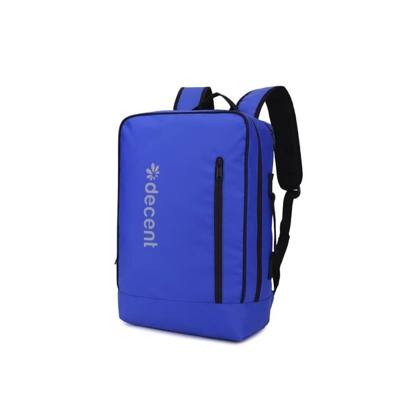 PU rugzak laptoptas BACKSIDE Blauw