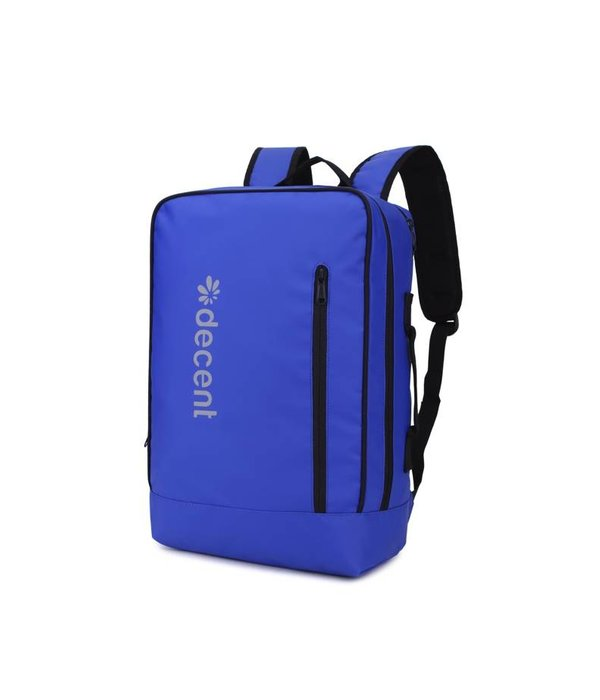Decent PU rugzak laptoptas BACKSIDE Blauw