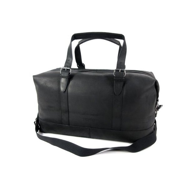 DAKOTA Ruime weekendtas travel bag Zwart