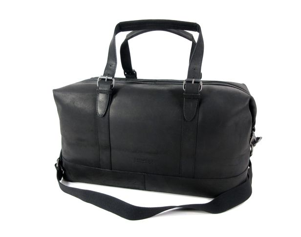 Image of DAKOTA Ruime weekendtas travel bag Zwart