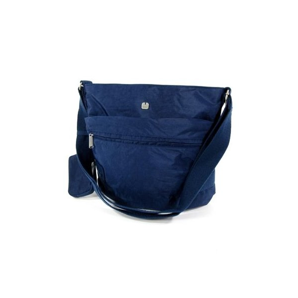 Trendy damestas Schoudertas WEST Blauw