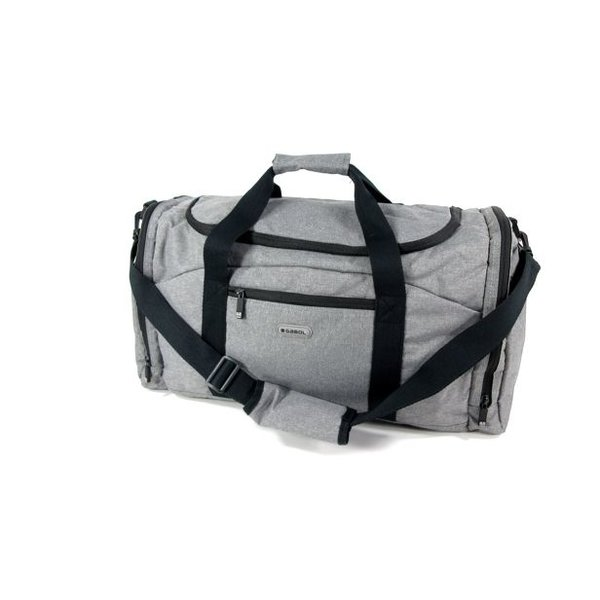 Travel bag weekendtas Medium MONTANA grijs