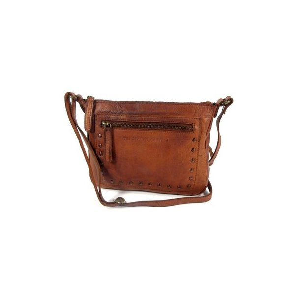 Trendy damestas cross-body tasje CALI Cognac