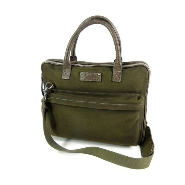 CANVASCO business 15,6 inch laptoptas Military