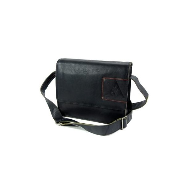 TABLET TAS MIDDLE FLAP LOW - ZWART