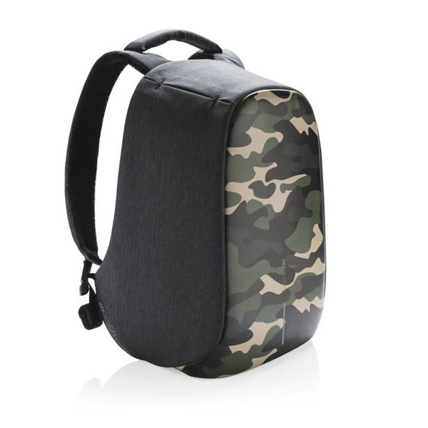 Bobby Compact rugzak anti-theft, CAMO GREEN