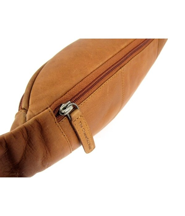Chesterfield leren heuptas gordeltas JACK wax pull up Cognac