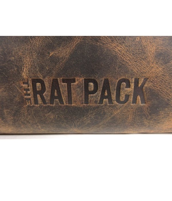 THE RAT PACK  JAZZ handtas laptop 17 inch sleeve bruin