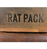 THE RAT PACK  GARRY 1 vaks heren werktas laptoptas 15 inch bruin