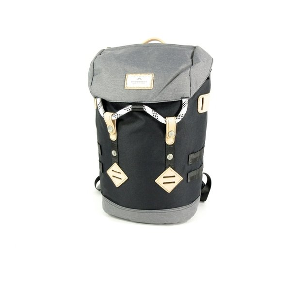 Colorado small rugzak schooltas Black x Grey