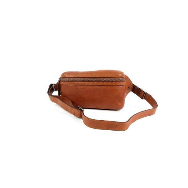 Gordeltas heuptas Ramiro Soft Class leather cognac