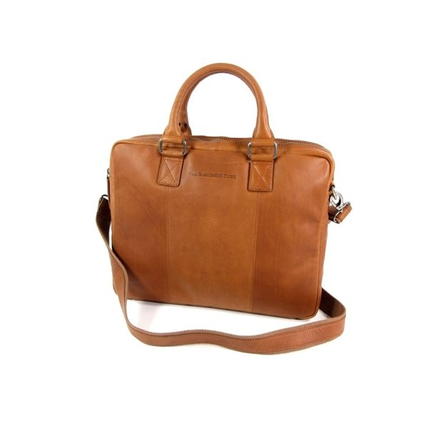 2 vaks laptoptas aktetas FLORIS wax pull up cognac