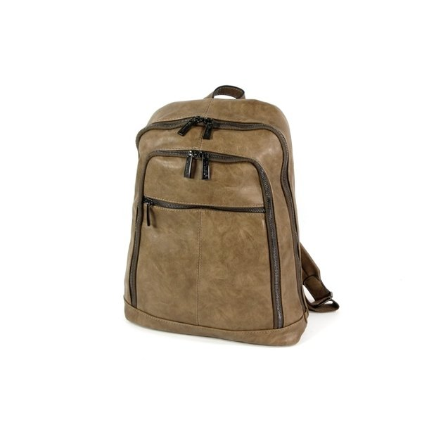 Silvina rugzak schooltas backpack taupe