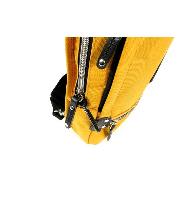 This is a picture of Satisfactory Harvest Label Cordura Sling Pack