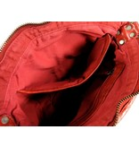 Chesterfield Compacte schoudertas damestas LISA Rood