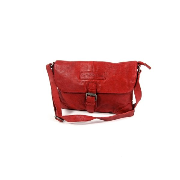 Dames kleptas Medium LIV Washed Polished vintage Rood