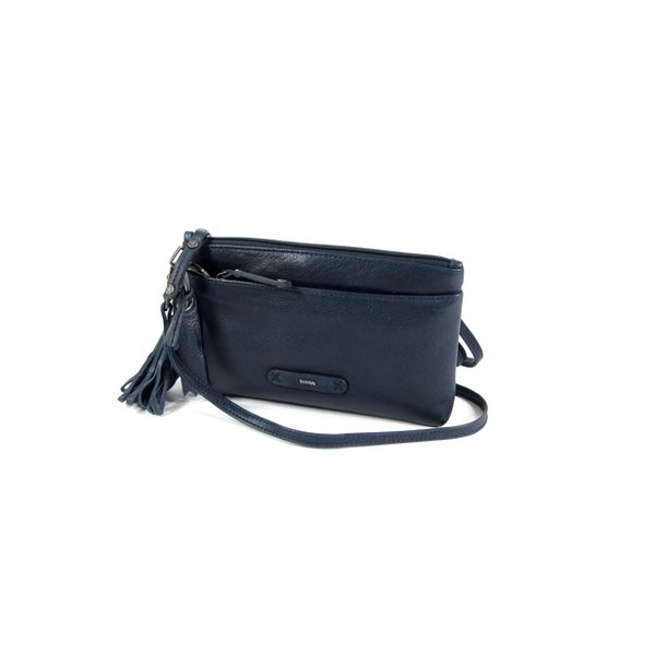 SCOTCH Dames clutch schoudertasje navy