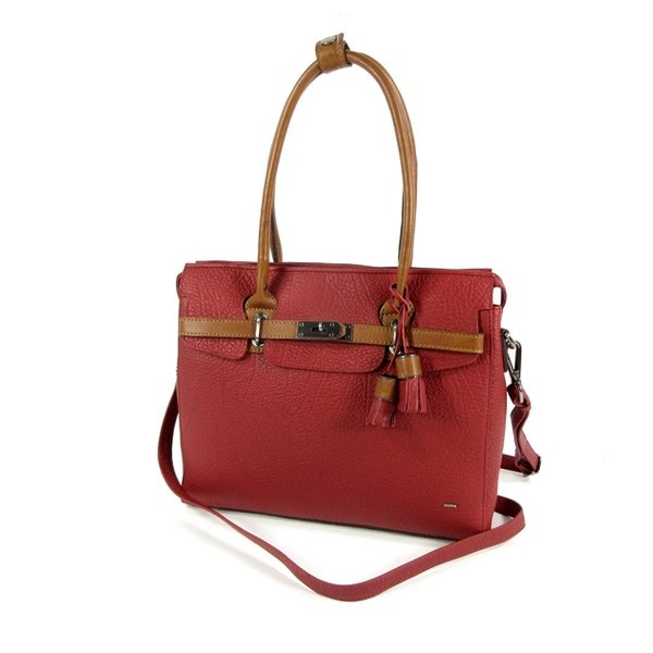 CHAMONIX damestas schoudertas business tas rood