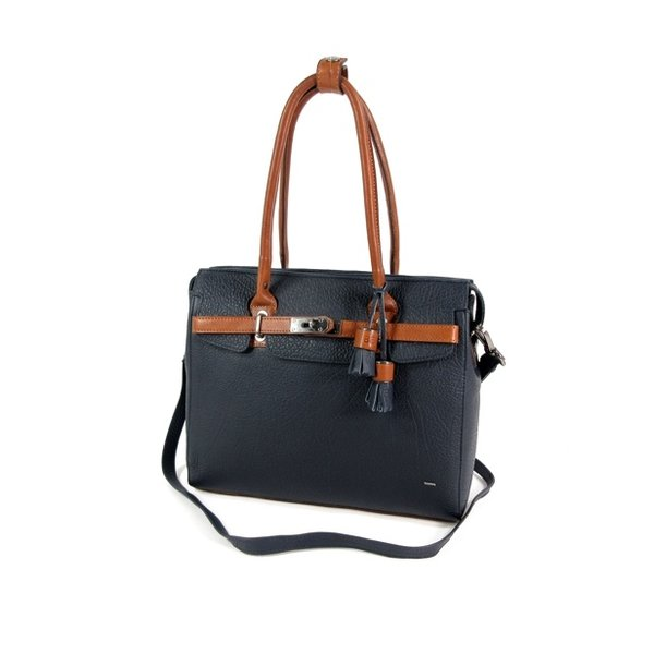 CHAMONIX damestas schoudertas business tas navy