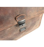 Old West 3 vaks WACO laptoptas 15,6 inch (38 cm) bruin