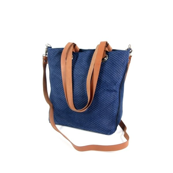 STRETTO Damestas shopper schoudertas Vintage Indigo