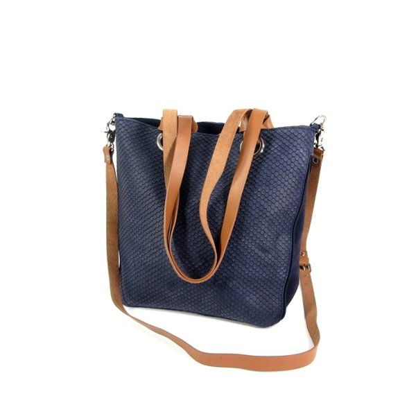 STRETTO Damestas shopper schoudertas Dark Navy