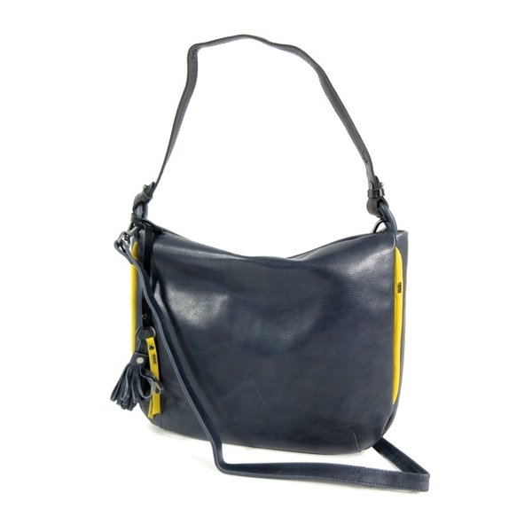 NOVOLUX damestas schoudertas Navy-yellow