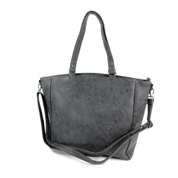 Trendy shopper dames tas schoudertas SUMTER zwart