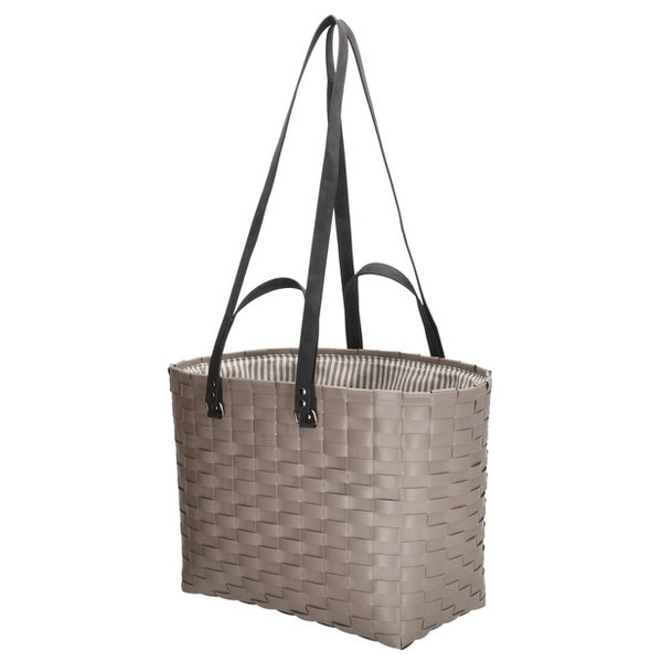 Recycle Life strandtas taupe