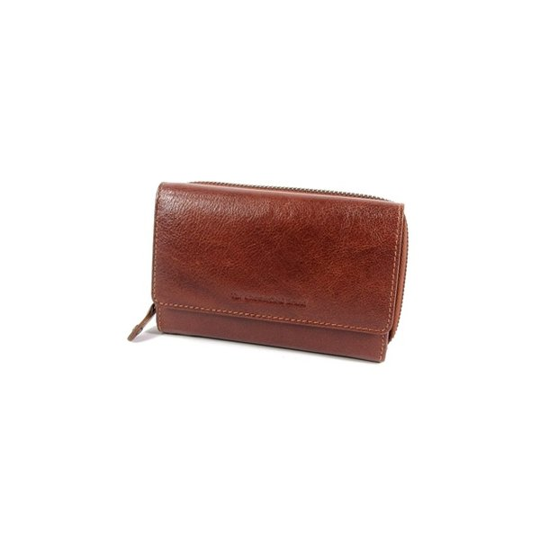 Dames portemonnee HAGEN Odean cow leather cognac