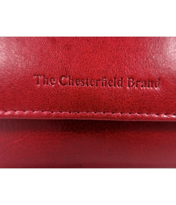 Chesterfield Dames portemonnee HAGEN Odean cow leather rood