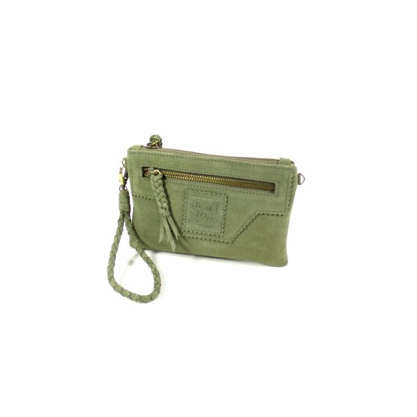 Portemonnee Camille Purse S Olive Green