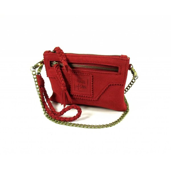 Portemonnee Camille Purse S Red Wood