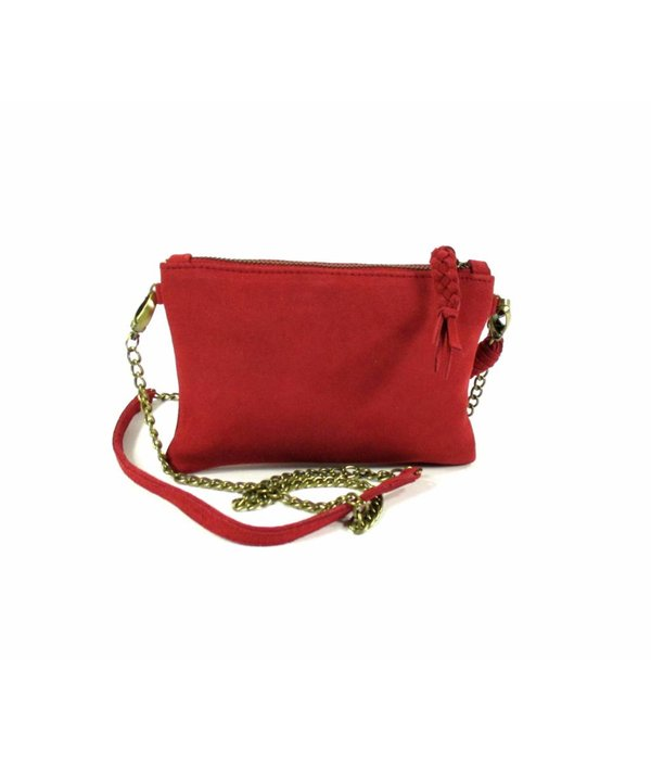 House of Sakk Portemonnee Camille Purse S Red Wood