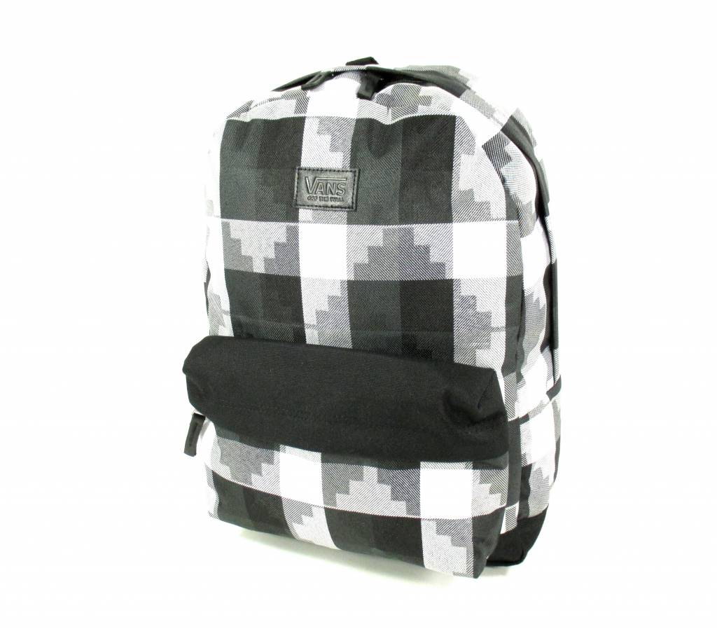 Image of BackPack CAMEO BLACK WHITE