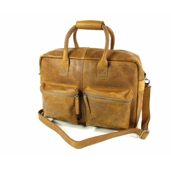 Westernbag William wax pull up leer Cognac