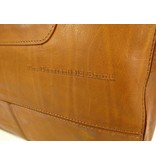 Chesterfield Chopper OLDHAM Waxed Pull Up Cognacy