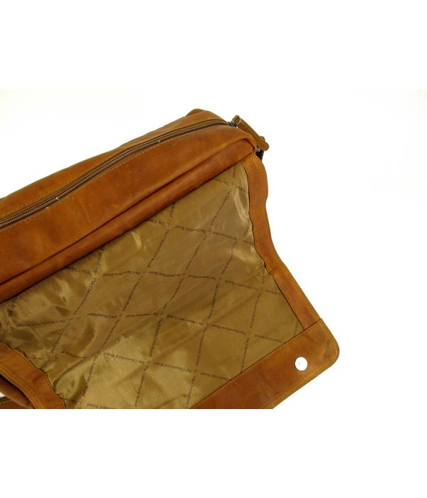 Chesterfield Kleptas Large DALE wax pull up cognac