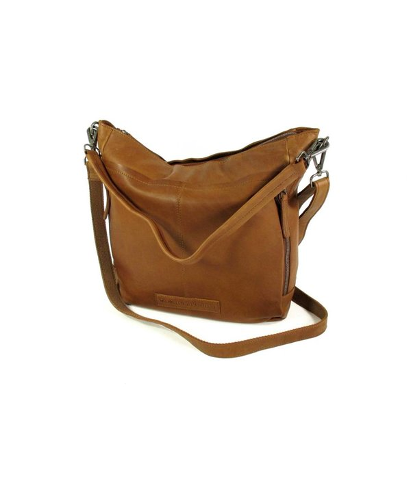 Chesterfield Damestas Shopper OLDHAMM wax pull up Cognac